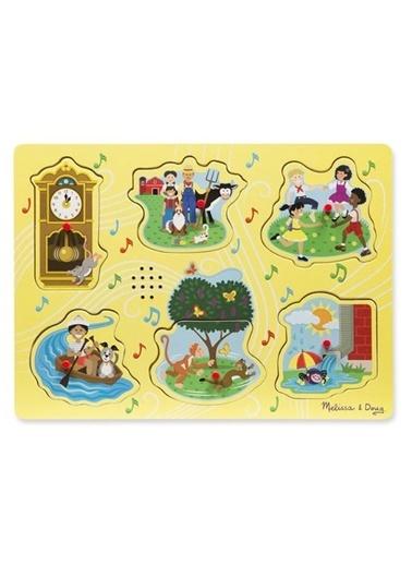 Melissa&Doug Puzzle Renkli